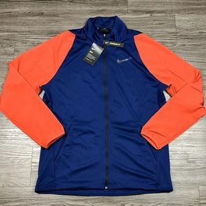 New Mens Nike Athletic Jacket Full Zip Dri-Fit NWT